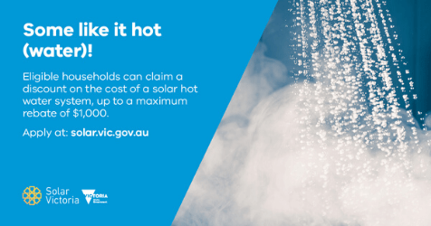 Solar hot water rebate social - small