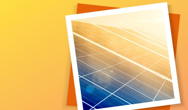Solar Homes program promotion campaign banner