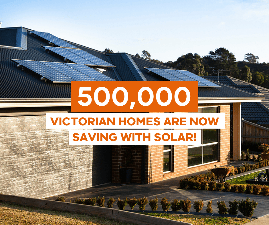 500,000 Victorian homes are now saving with solar