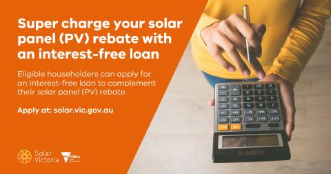 Solar panel (PV) loan social tile July 2020