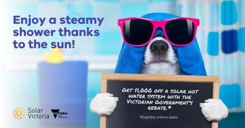 Hot water rebate V2 July 2020 social tile